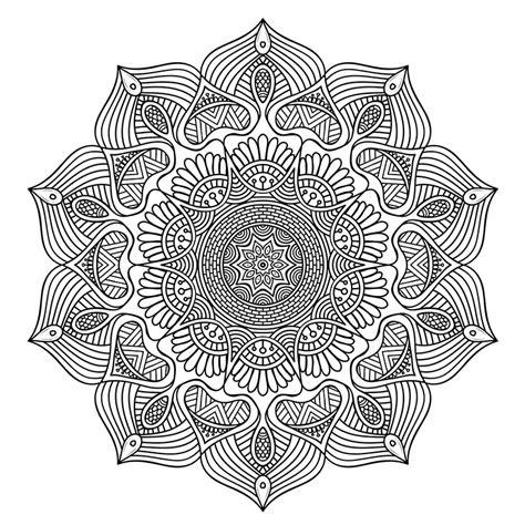 Kleurplaten Voor Bejaarden by Free Downloadable Mandala Coloring For Stress Relief