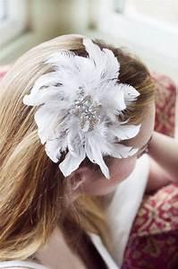 Bridal Feather Hair Clip Wedding Hair Accessories Bridal