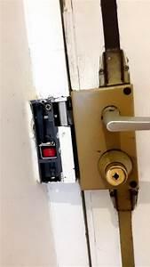 serrure quincaillerie gache electrique porte interieur With reparer une serrure de porte