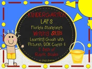 lafs fla kindergarten writing learning goals with 2 sets 671 | original 1374019 1