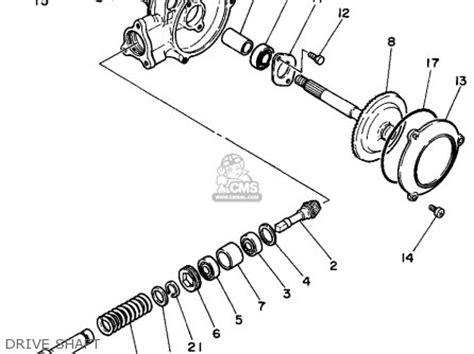 yamaha pw50g 1995 parts list partsmanual partsfiche