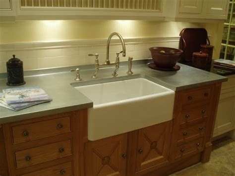 farmhouse sink with laminate countertops zinc countertop gallery brooks custom