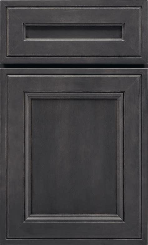 Dark Grey Cabinets   Storm Maple Cabinet Finish   Kemper