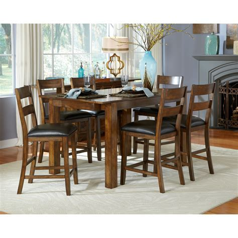 A America Mariposa Gathering Counter Height Dining Table