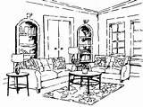 Coloring Living Rooms Furniture Drawing Livingroom Bedrooms Getdrawings Buildings Again Bar Looking Case Don Corner Etc Logos Illustrations Fine Arts sketch template