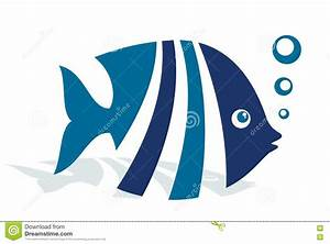 Logo Abstract Fish. Stock Vector - Image: 82592539