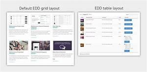 Easy Digital Downloads Table Plugin