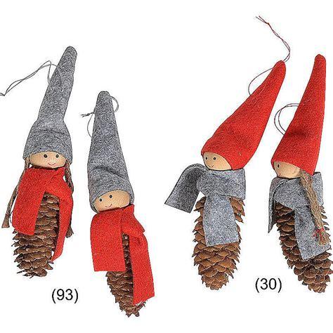 deko weihnachten zapfen filz zapfen wichtel deko h 228 nger weihnachten g 252 nstig online