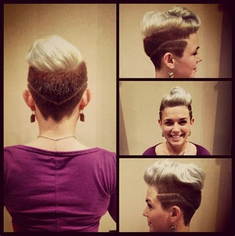 swept  quiff hairstyle  women hairstyles weekly