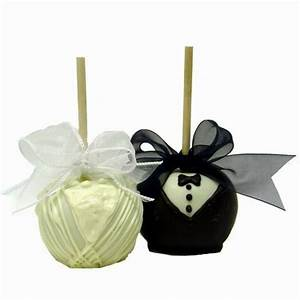 Apple wedding favors ideas sang maestro for Candy apple wedding favors