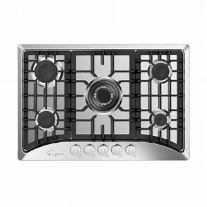 Empava 30 In  Gas Stove Cooktop With 5 Sealed Italy Sabaf