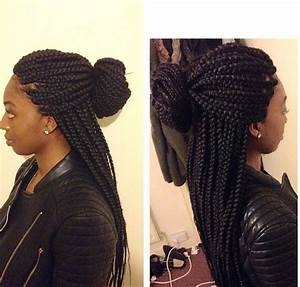 Box braids . Medium large size | Hair | Pinterest | Follow ...