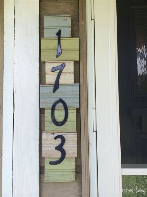 address sign ideas thatll  neighbors stop