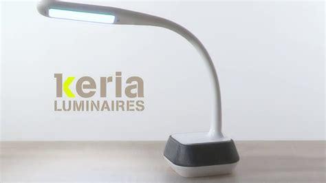 bureau enceinte keria luminaires vidéo le de bureau led dimmable