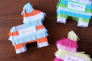 wedding memorial ideas cinco de mayo mini piñatas evite