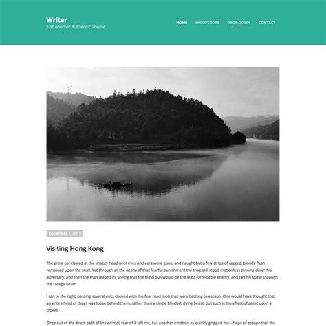 Minimal Themes Writer Minimal Theme Wpexplorer