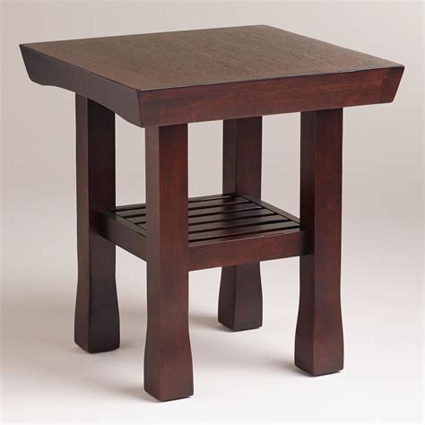 Lighted End Tables Living Room Furniture by Hako End Table World Market 149 99 Living Room