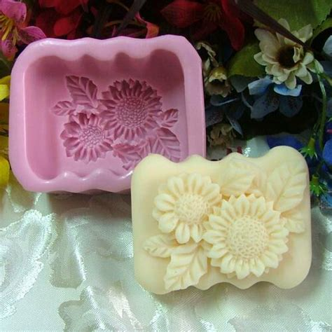 Sti In Silicone Per Candele by Sunflower Soap Mold Soap Silicone Mold Resin