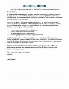 best management cover letter examples livecareer With writing a cover letter for a management position