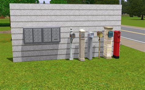residential mailboxes mailbox the sims wiki