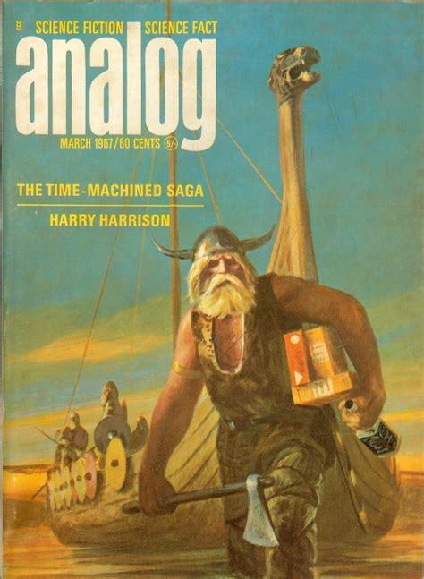 analog science fiction magazine  vintage everyday