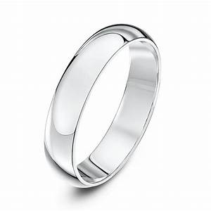 Palladium 950 medium d 4mm wedding ring for Palladium wedding ring