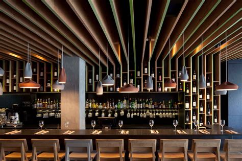 Wine Bar Design by Bindella Osteria Bar Pitsou Kedem Baranowitz Amit