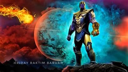 4k Deviantart Thanos Artwork 5k Digital Titan