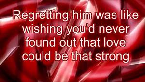 Taylor Swift- Red (Lyrics) - YouTube