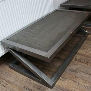 Table Basse En Beton : table basse carr e beton z table basse design table basse b ton ~ Farleysfitness.com Idées de Décoration