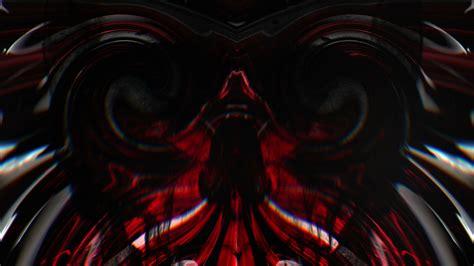 skull face  video vj loop full hd fps