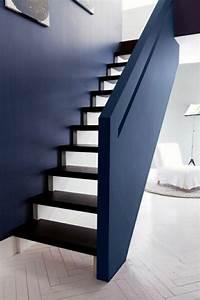 idee peinture escalier dootdadoocom idees de With peindre rampe escalier bois 11 cage descalier 20 idees deco pour un bel escalier