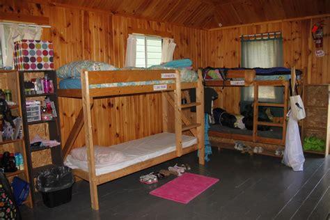 cabins bunks southwoods camp