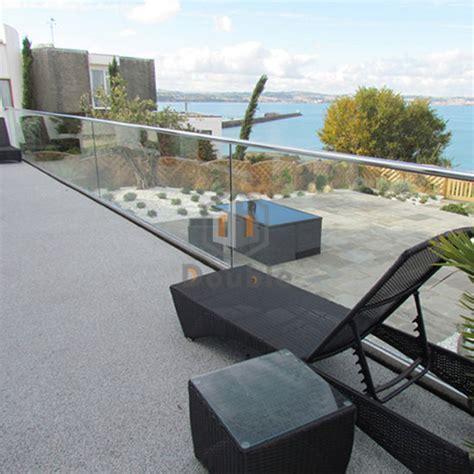 customized tempered glass interior stair railing china fence railing u channel aluminum balcony railing