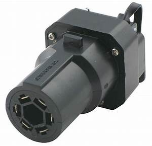 Adapter 7-pole To 6-pole And 4-pole With Cover