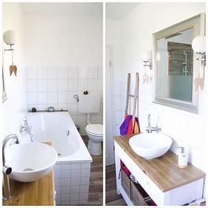Hausumbau Vorher Nachher : vorher nachher das badezimmer sunnys haus ~ Lizthompson.info Haus und Dekorationen