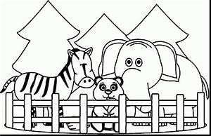Zoo Entrance Clipart Black And White - ClipartXtras