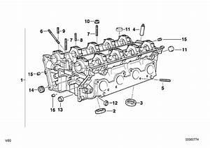 1994 Bmw 740il Screw Plug  M10x1  Engine  Alpina  Cylinder - 11127539543