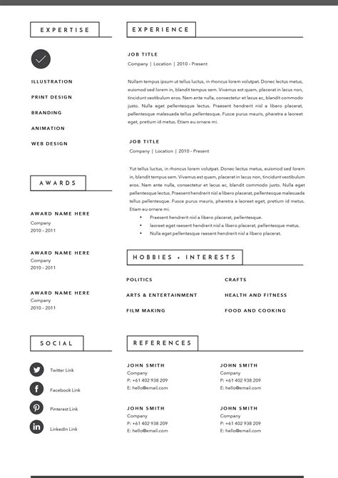 Resume Creation Website by 3 Page Resume Template Indd Docx By Basic Creations On
