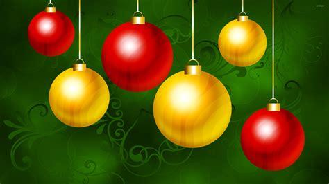christmas ornaments 3 wallpaper holiday wallpapers