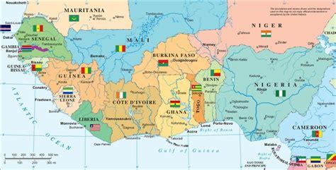 Afrikaanse landen - West-Afrika