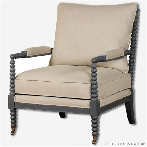 spindle chair and ottoman cheshire bobbin spool armchair spindle chair with