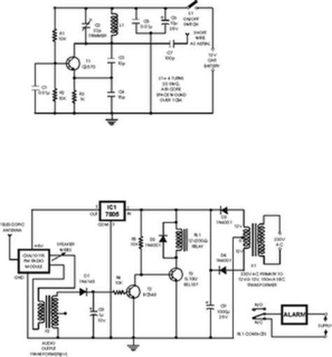 skema rangkaian alarm mobil gambar skema rangkaian elektronika
