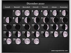 Calendario Lunare 2020 Fasi lunari
