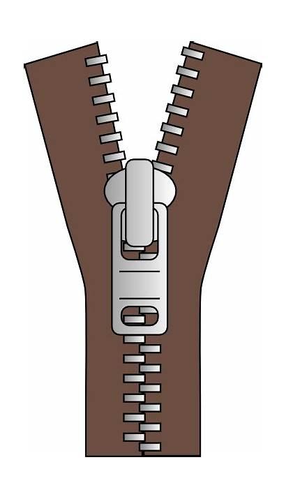 Zipper Clip Clker Clipart Vector