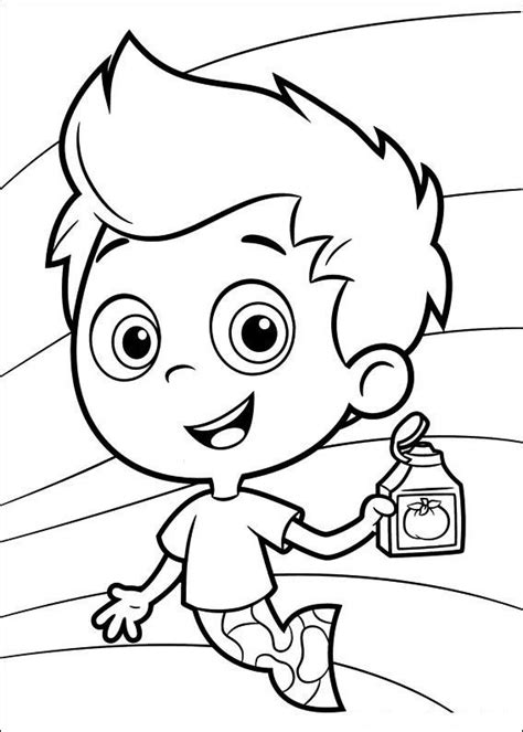 bubble guppies coloring pages  coloring pages  kids