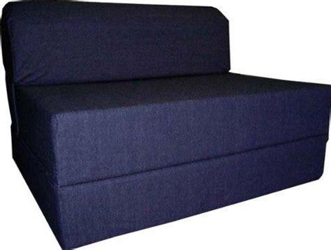 Sleeper Chair Folding Foam Bed Size 6 by Denim Sleeper Chair Folding Foam Bed From Things