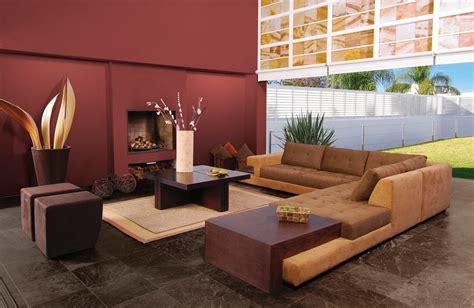 paredes terracota sala  comedor en  decoracion de