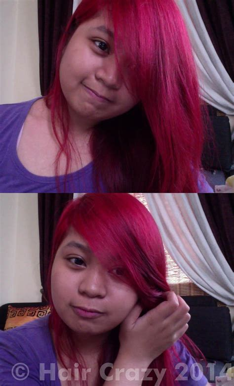 Bright Red To Light Pink Hair Forums