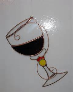 Wine Stained Glass Patterns